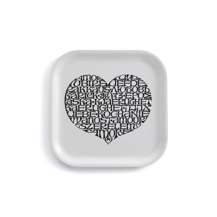 Classic Tray lille International Love Heart by Vitra