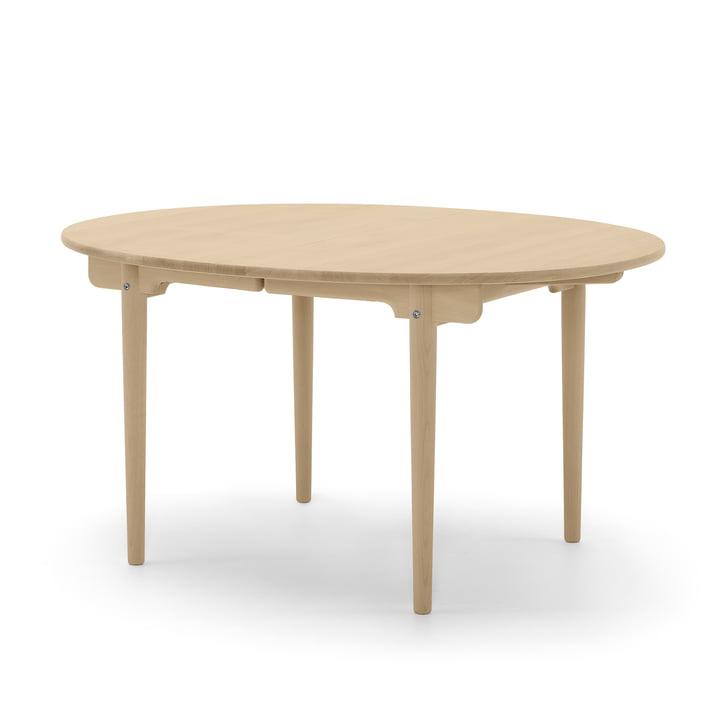 CH337 udtrækkelig spisebord 140 x 115 cm af Carl Hansen olieret i egetræ