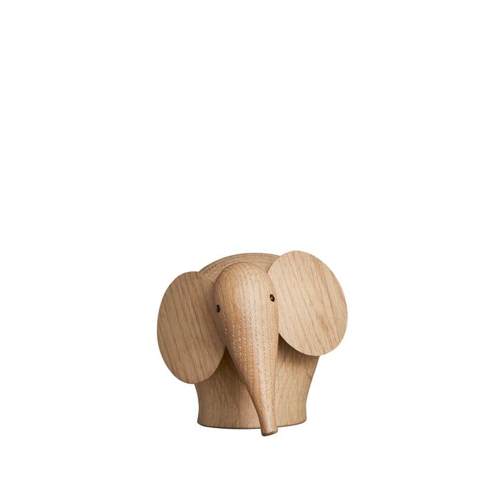 Nunu Elefant i mini af Woud i matlakeret eg