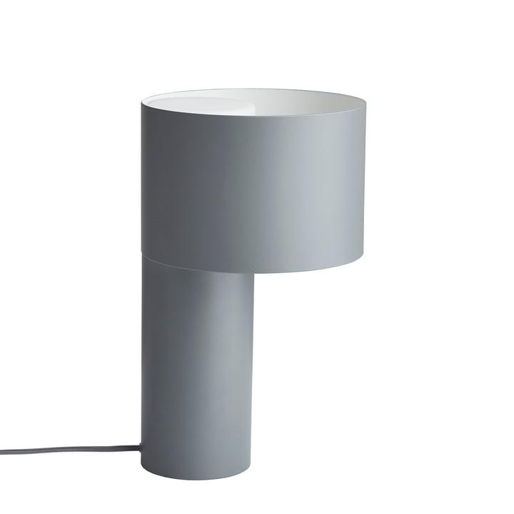 Tangent bordlampe fra Woud i kølig grå
