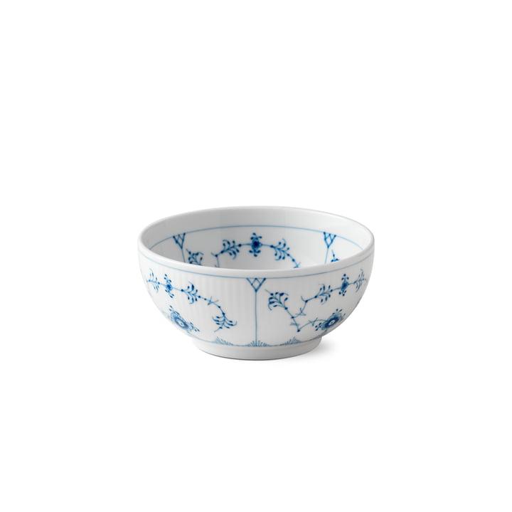 Musselmalet Ribbet Bowl Ø 13 cm fra Royal Copenhagen