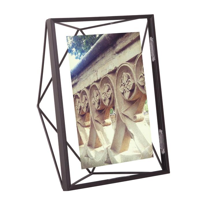 Prisma billedramme 10 x 15 cm i sort af Umbra