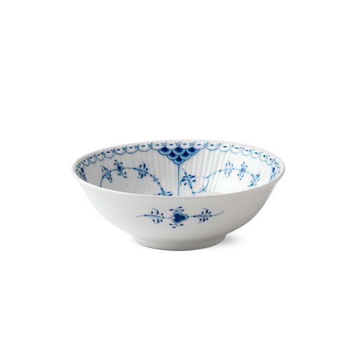 Musselmalet Halskant Bowl Ø 16 cm fra Royal Copenhagen