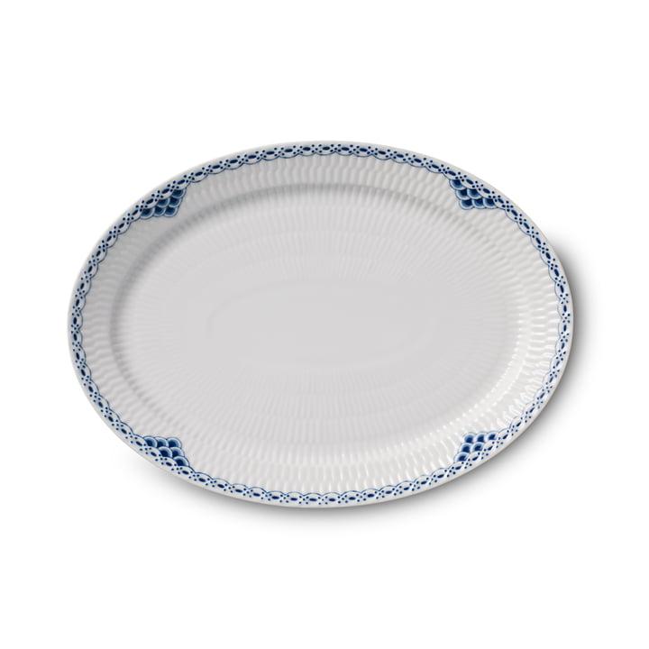 Prinzess serveringsplade oval 28 cm fra Royal Copenhagen