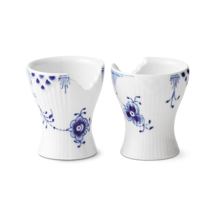 Elements Blue Egg Cup (Set of 2) af Royal Copenhagen