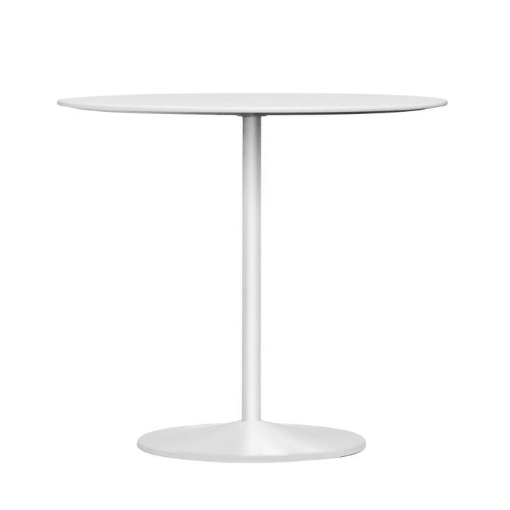 Panton spisebord, Ø 90 x H 72 cm fra Montana i laminatsnø / sne