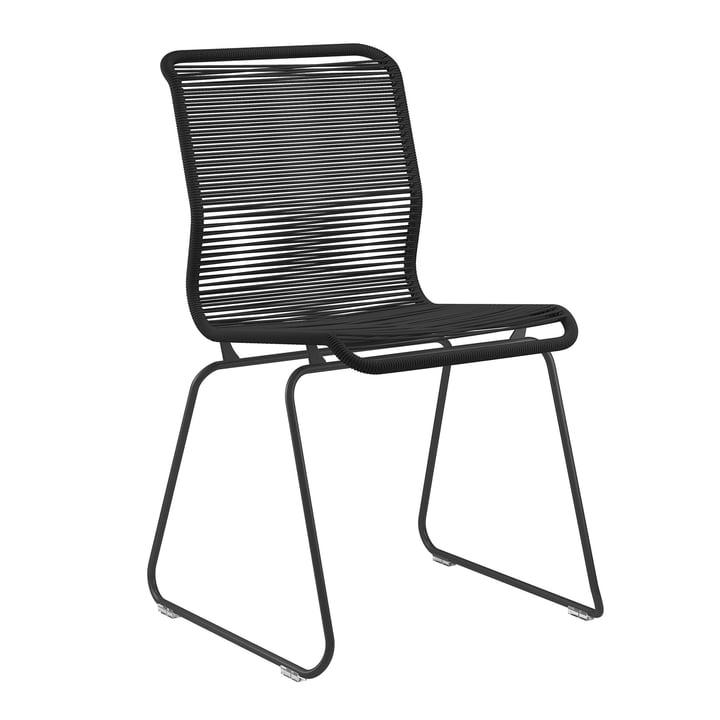 Panton One stol af Montana i Clark / sort