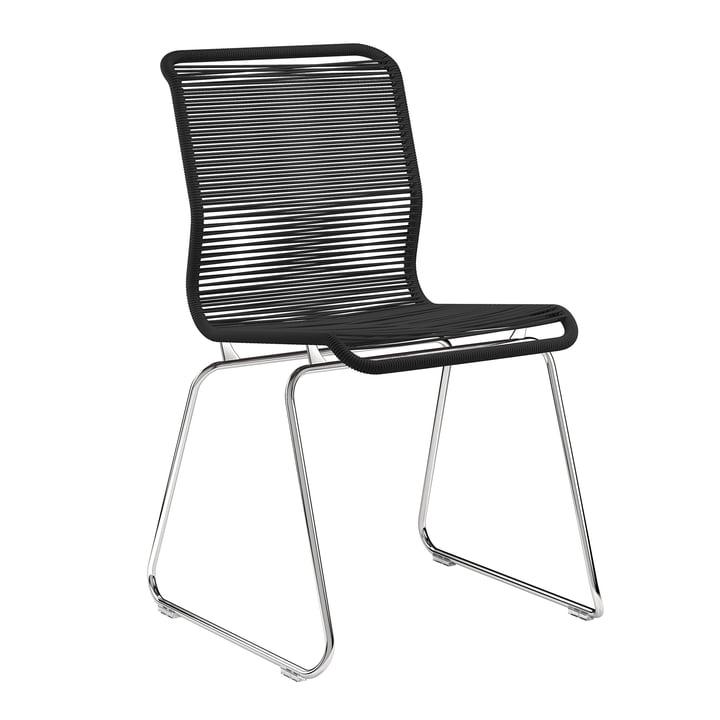 Panton One stol af Montana i Clark / krom
