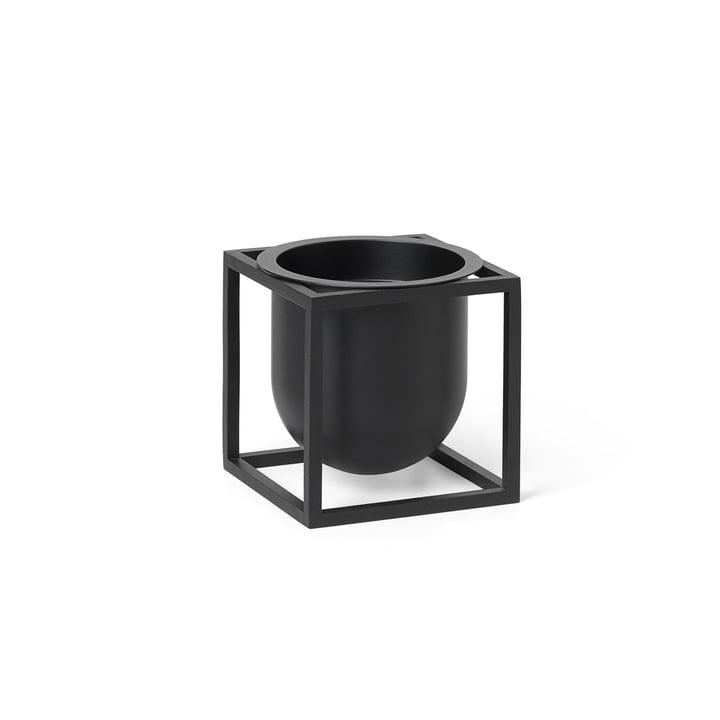 Kubus Flowerpot 10 af Lassen i sort