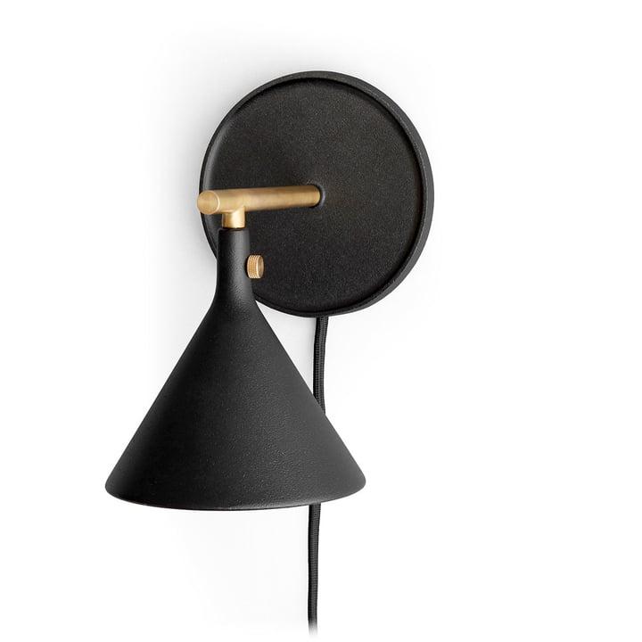 Cast Sconce væglampe i sort ved menuen