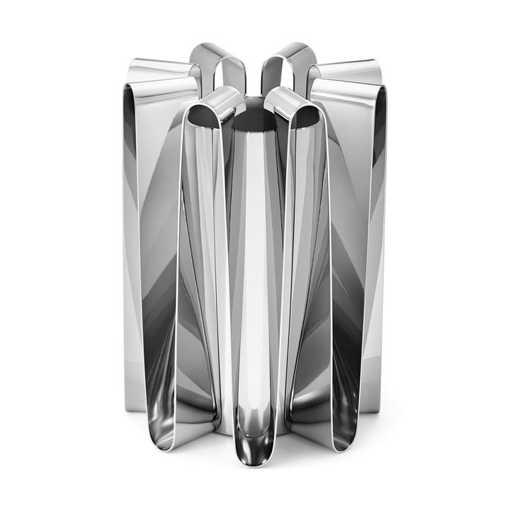Frekvens Vase i rustfrit stål poleret af Georg Jensen