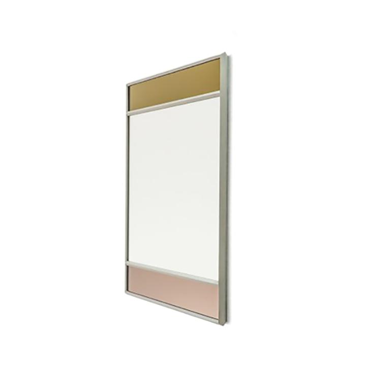Vitrail vægspejl 50 x 50 cm fra Magis i lysegrå / flerfarvet