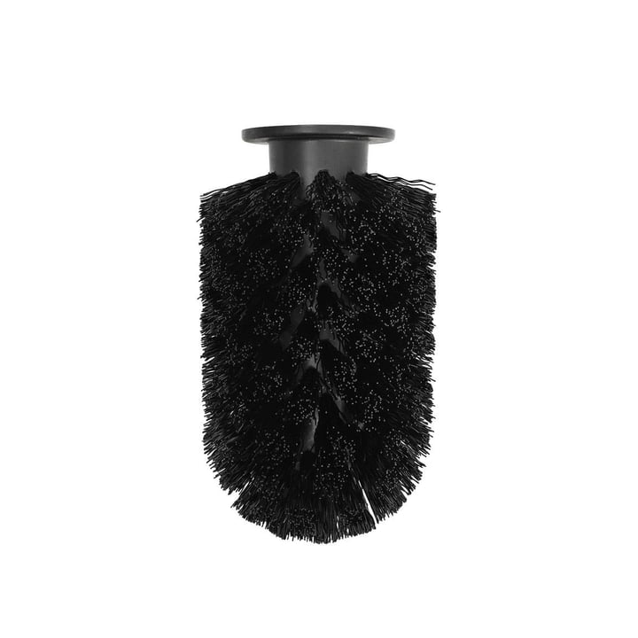 Udskiftning børstehoved til Ballo toiletbørste fra Normann Copenhagen i sort
