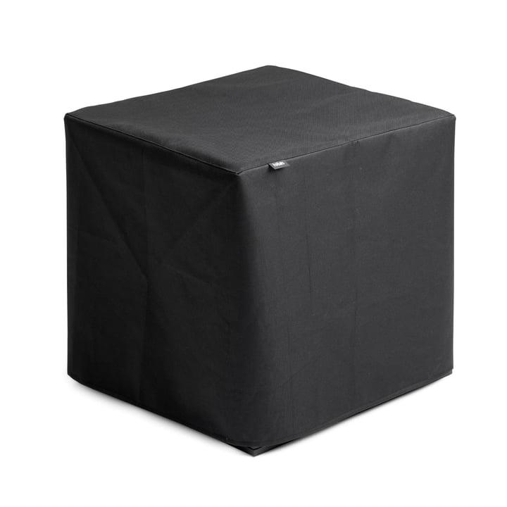 Dæk til kube af hoveder i sort