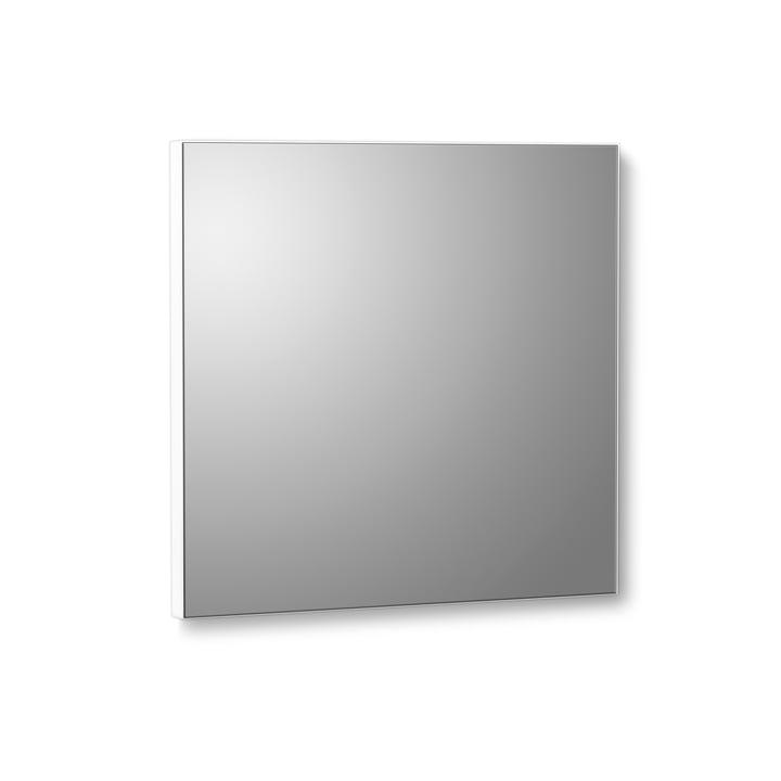 VertiMirror Mini væg spejl 15 x 15 cm fra Verti Copenhagen i hvid