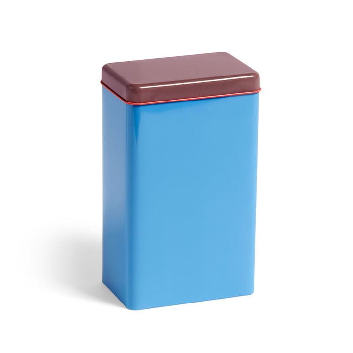 Tin ved Sowden opbevaringsboks af hue i blåt