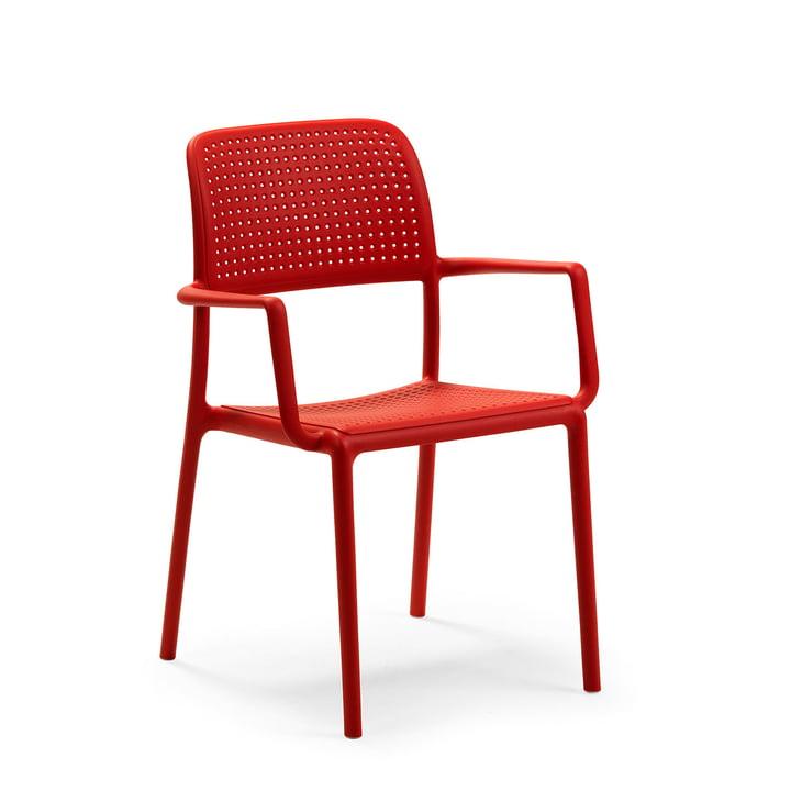 Bora lænestol i rød af Nardi