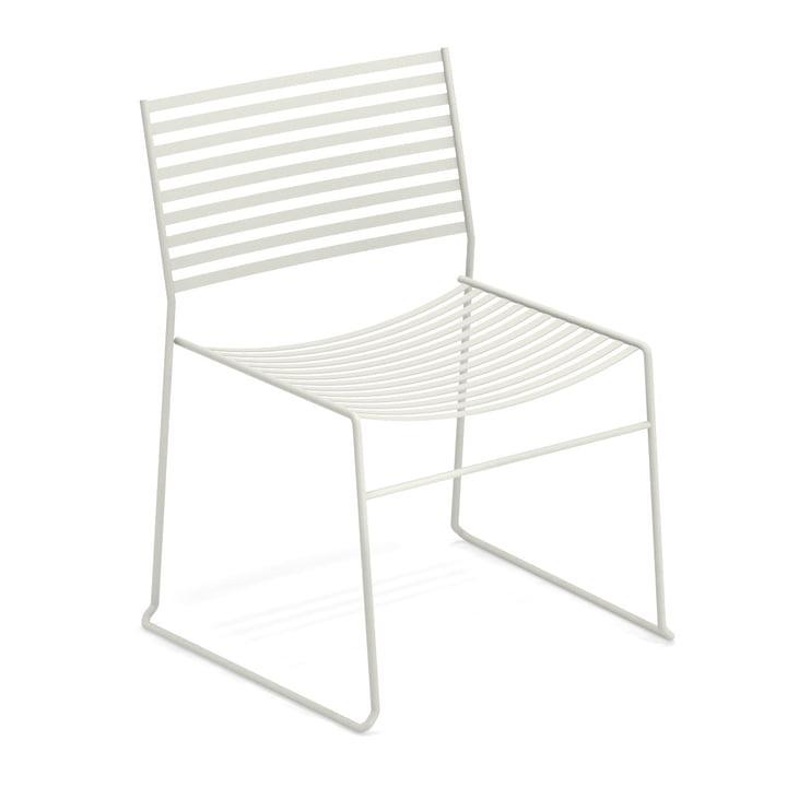 Aero lounge stol i hvid af Emu