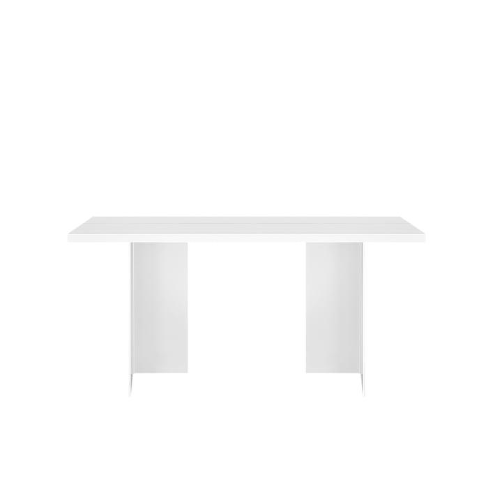 Zebes bord 150 x 85 cm objekter af vores dage i hvidt