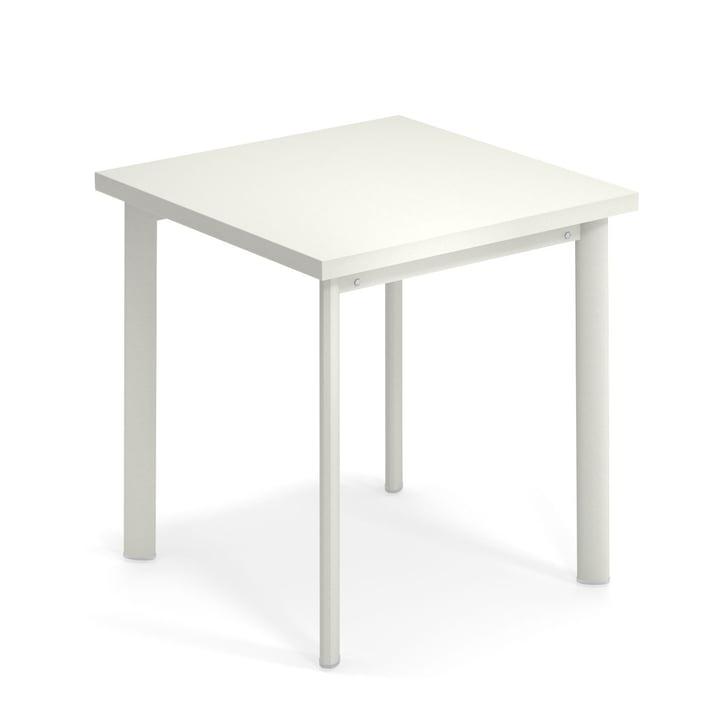 Stjernebord H 75 cm, 70 x 70 cm i hvid af Emu