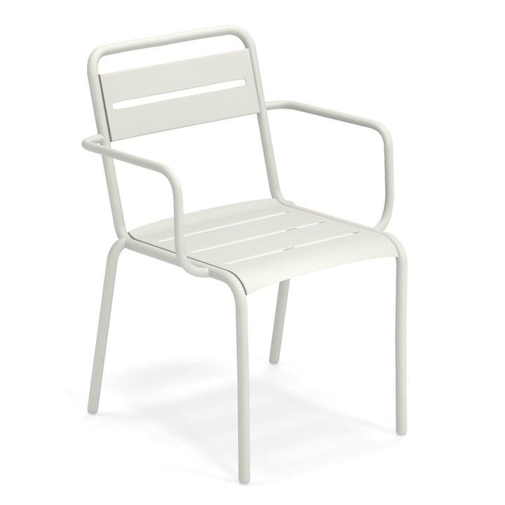Star lænestol i hvid af Emu