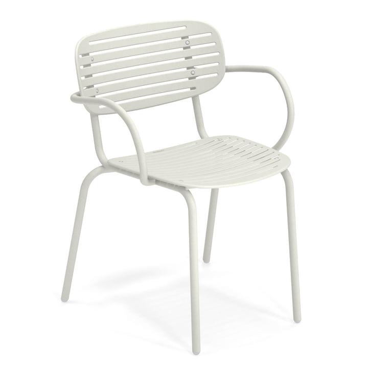 Mamma lænestol i hvid af Emu