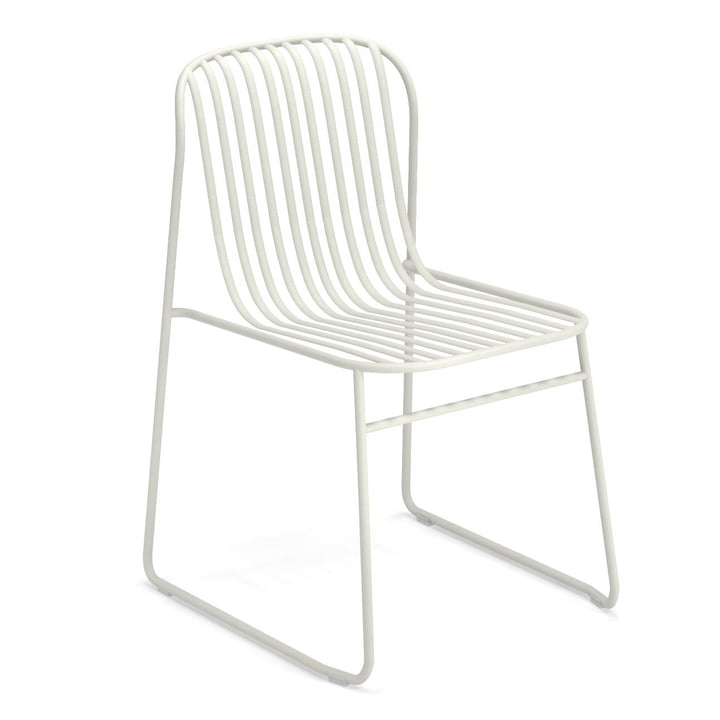 Riviera stol i hvid af Emu