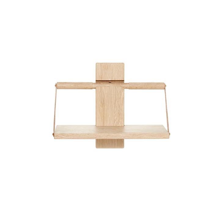 Trævæg hængende hylde 30 x 18 x H 24 cm af Andersen Møbler af egetræ