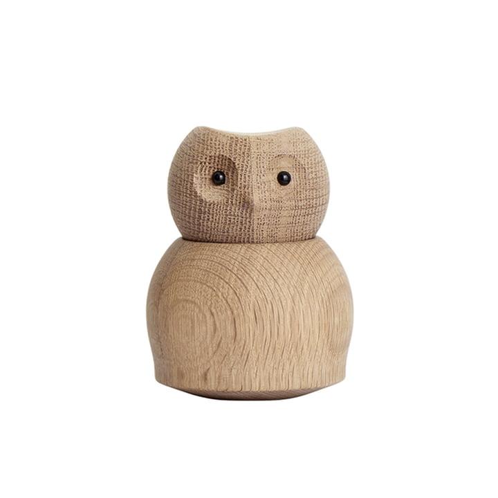 Ugle lille af Andersen Møbler lavet af egetræ