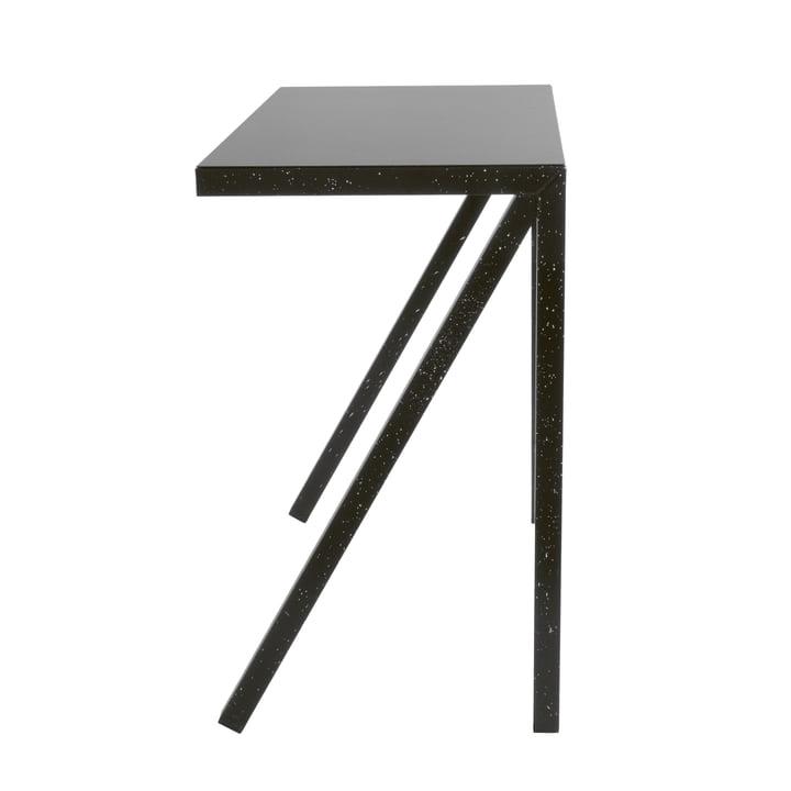 Bureaurama barbord H 102,5 cm i sort (sprøjtet hvid) af Magis