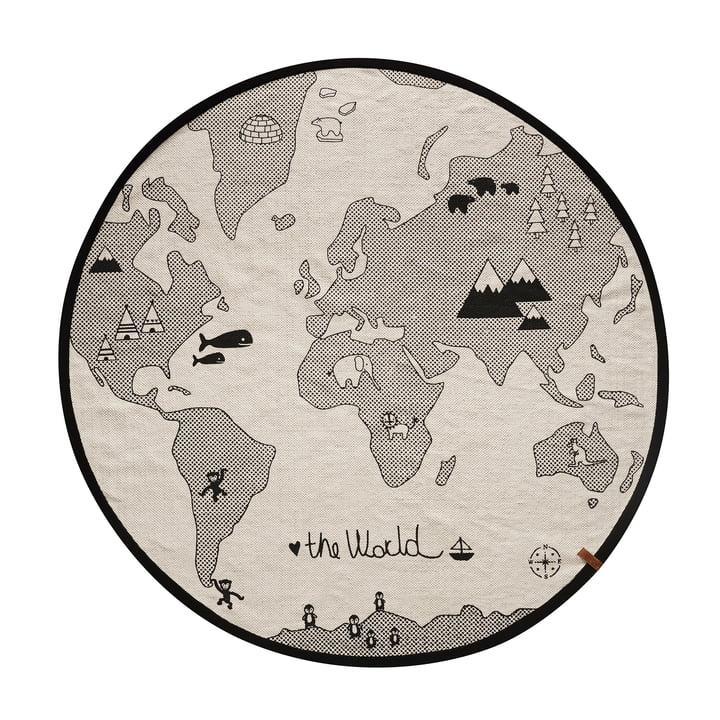 Verden legetøj Ø 135 cm af OYOY i sort / grå