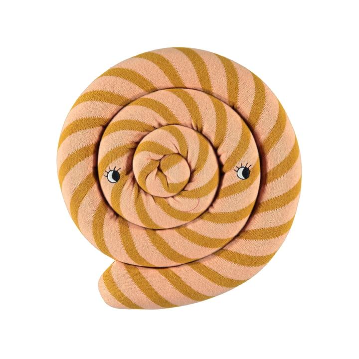 Lollipop pude Ø 30 cm ved OYOY i karamel
