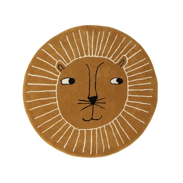 Børns tæppe Lion Ø 95 cm fra OYOY