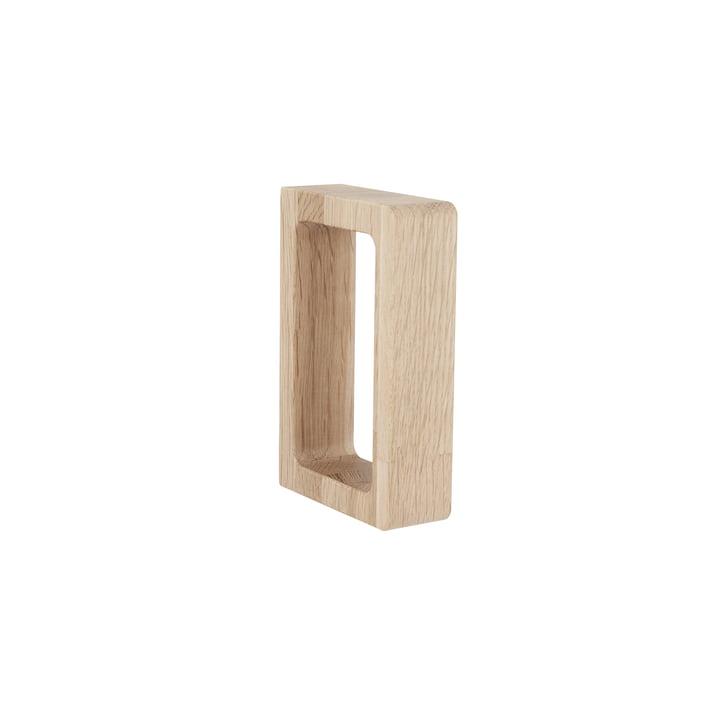 Grip håndklædeholder af Andersen Møbler lavet af egetræ