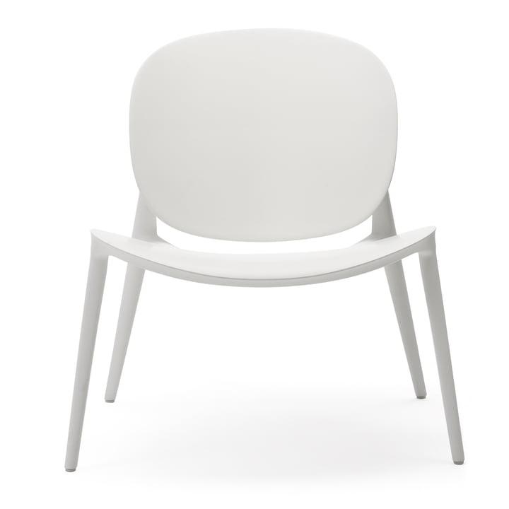 Vær Bop lænestol af Kartell i matt hvid