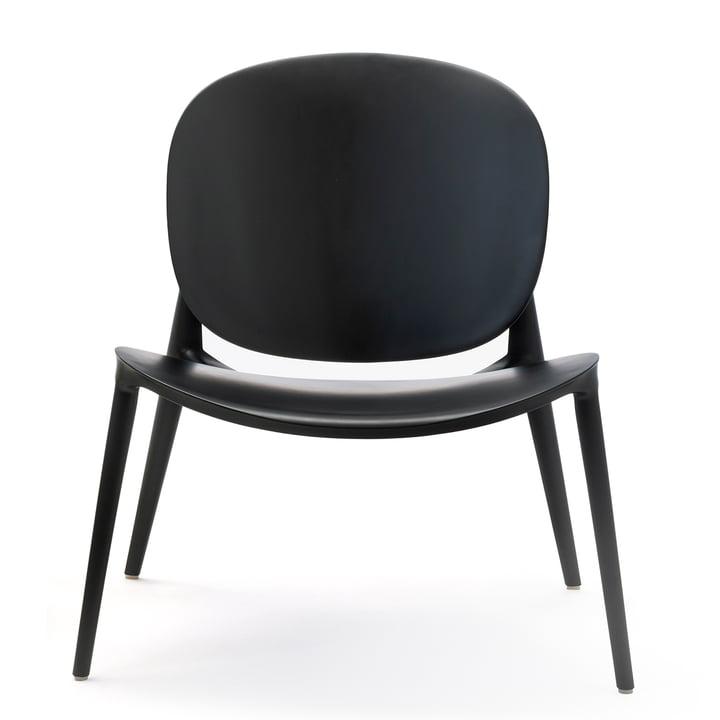 Vær Bop lænestol af Kartell i matt sort
