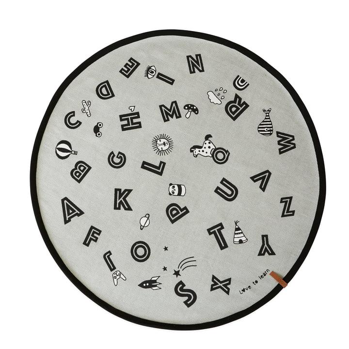 Alfabet legetøj Ø 120 cm i gråt af OYOY