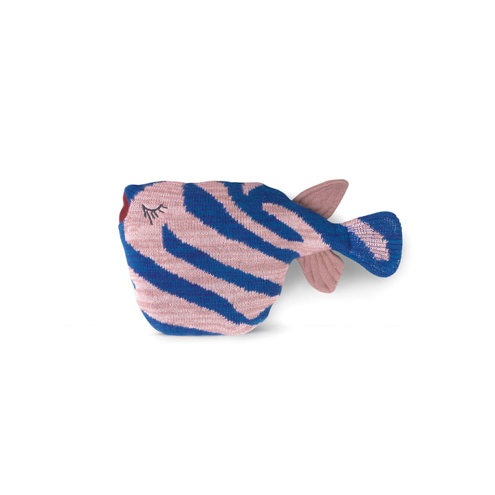 Fruiticana Push Tiger Fish, blå / pink af ferm Living