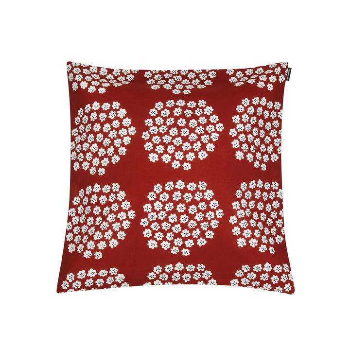 Puketti pudebetræk 45 x 45 cm af Marimekko i rød / mørkeblå / hvid
