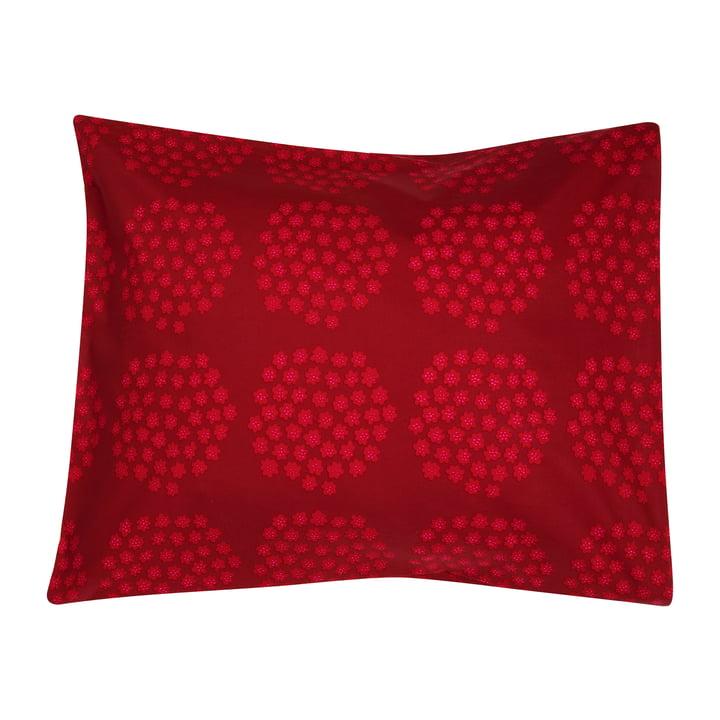 Puketti pudebetræk 65 x 65 cm af Marimekko i rød / mørkerød