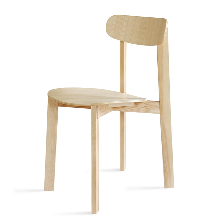 Bondi Stol i mat aske lakeret af Please wait to be seated