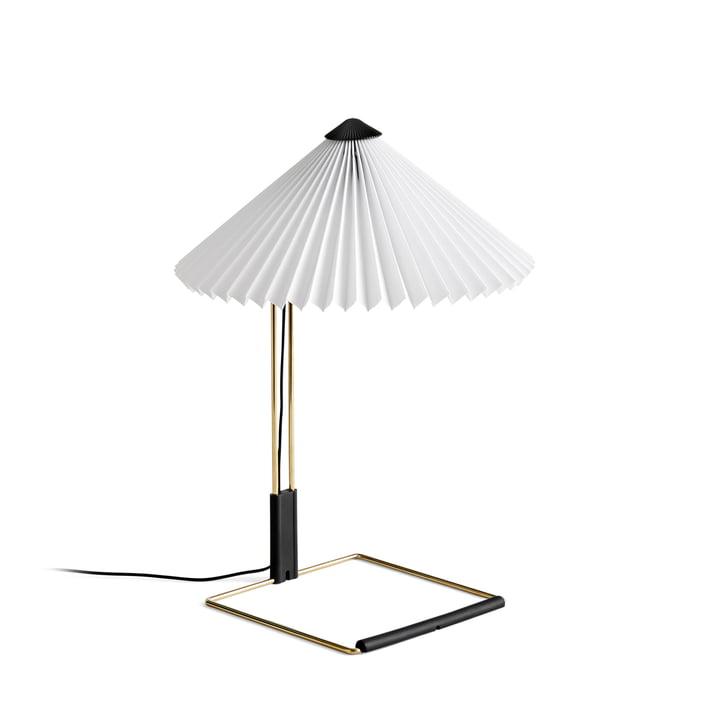 Matin LED bordlampe S, hvid af Hay