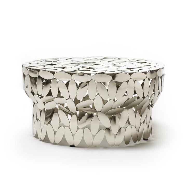 Foliae sofabord i nikkel ved udtalelse Ciatti