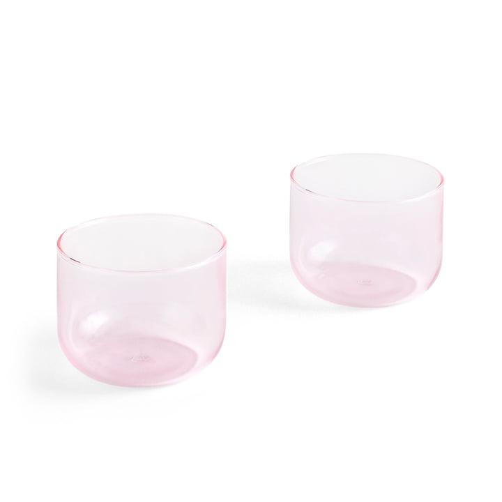 Tint Tumbler 200 ml i pink (sæt af 2) af Hay