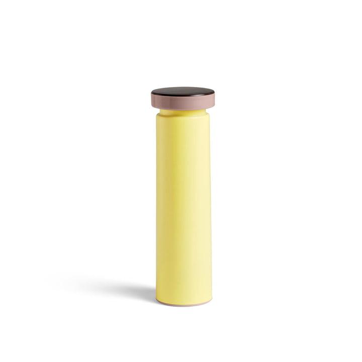 Sowden salt- og peberkværne M, Ø 6 x H 20 cm i gul af Hay