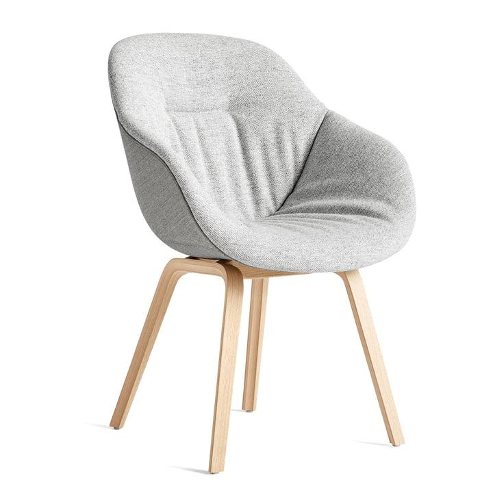About A Chair AAC 123 Soft Duo, matlakeret eg / indre pude Hallingdal 116 / bagside Remix 133 af Hay