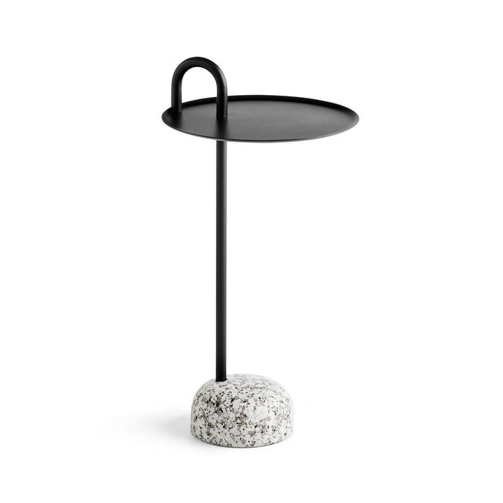 Bowler Sidebord, Ø 36 cm / H 70,5 cm i sort af Hay