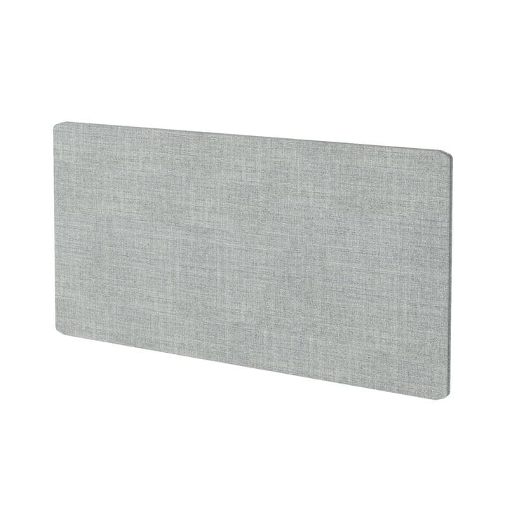 Tekstilpanel til gratis hyldesystem af Montana i Kvadrat Remix 2 (123 grå)