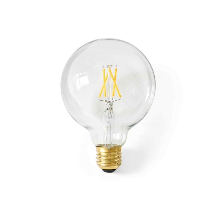 Globus LED-pære E27, Ø 95 mm / klar fra Menu