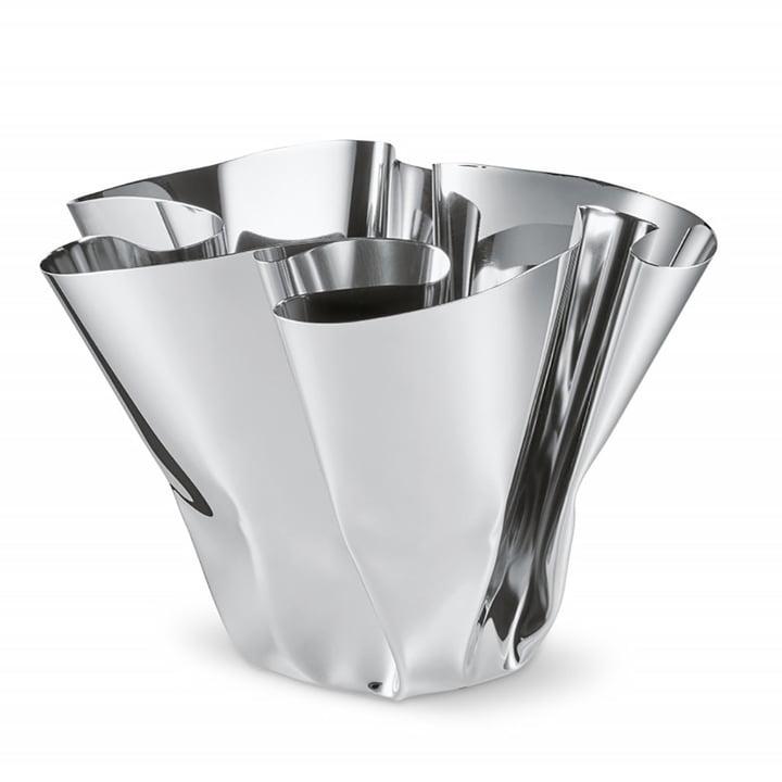 Margeaux vase H 20 cm, rustfrit stål af Philippi
